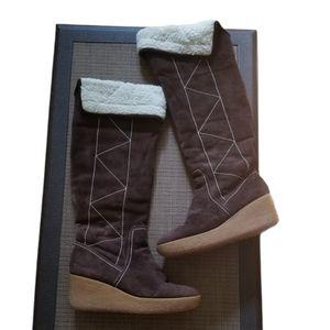 MICHAEL Michael Kors Suede Winter Boot (Size 10)